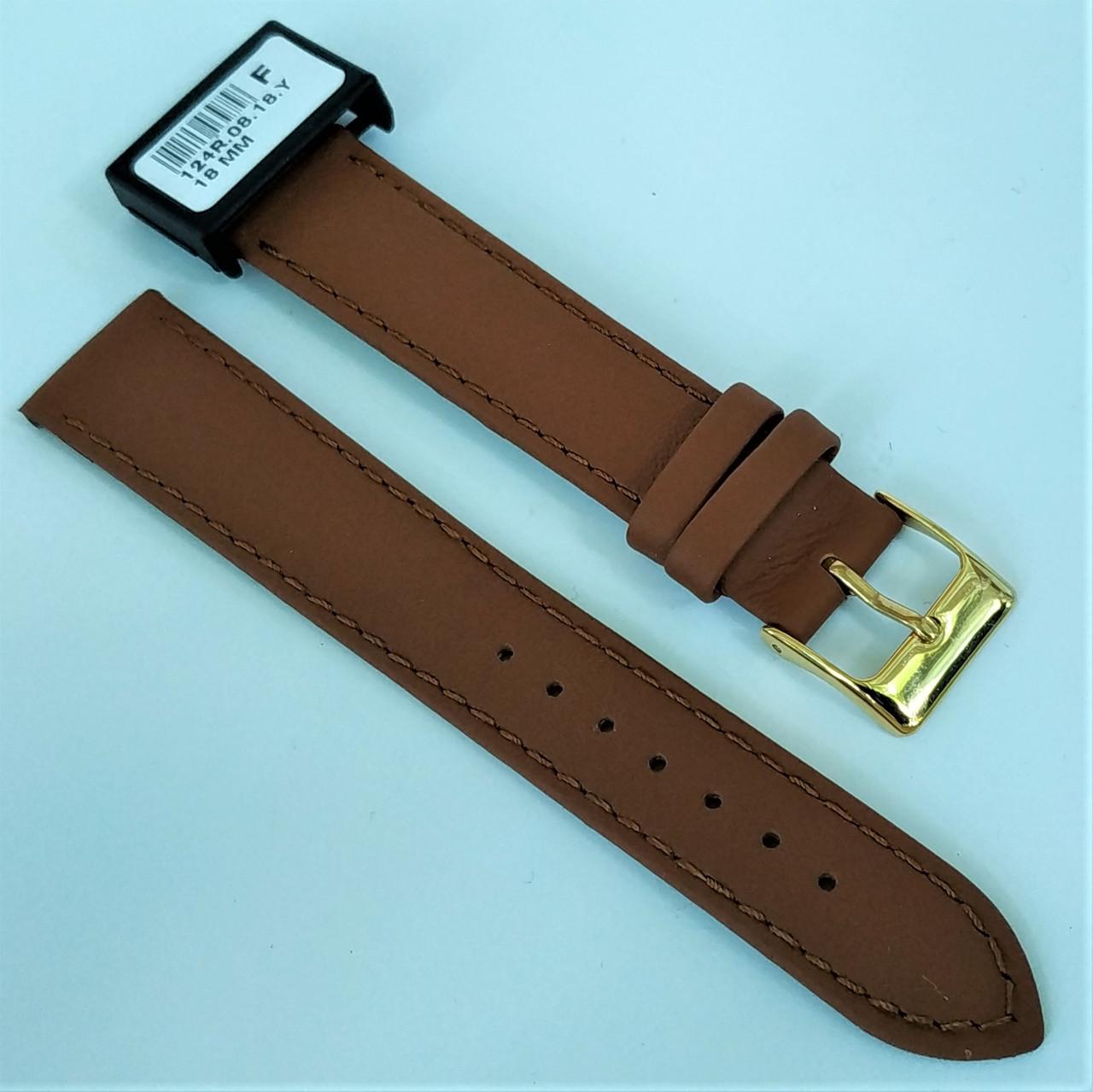 14 мм Кожаный Ремешок для часов CONDOR 124.14.08 Коричневый Ремешок на часы из Натуральной кожи