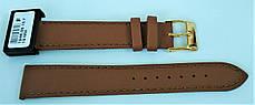 14 мм Кожаный Ремешок для часов CONDOR 124.14.08 Коричневый Ремешок на часы из Натуральной кожи, фото 3