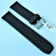 Ремінець для годинника з каучуку CONDOR PU.103.24 (24 мм)