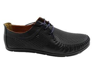 Туфлі чоловічі Broni TL 16-03 синій * 20857