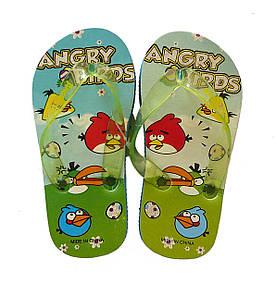 Вьетнамки Angry Birds для мальчика. 24/25