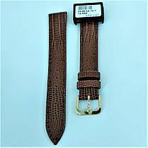 16 мм Кожаный Ремешок для часов CONDOR 343.16.02 Коричневый Ремешок на часы из Натуральной кожи, фото 2