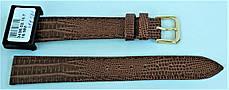 16 мм Кожаный Ремешок для часов CONDOR 343.16.02 Коричневый Ремешок на часы из Натуральной кожи, фото 3