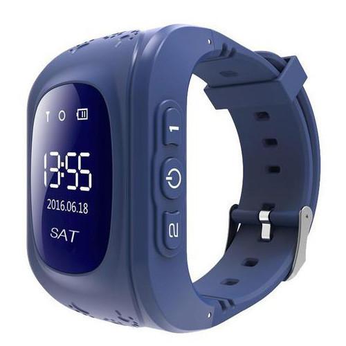 Смарт-часы детские с GPS Smart Watch Q50 синий