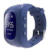 Смарт-часы детские с GPS Smart Watch Q50 синий, фото 1