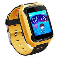 Смарт-часы детские с GPS Smart Watch Q528 желтый