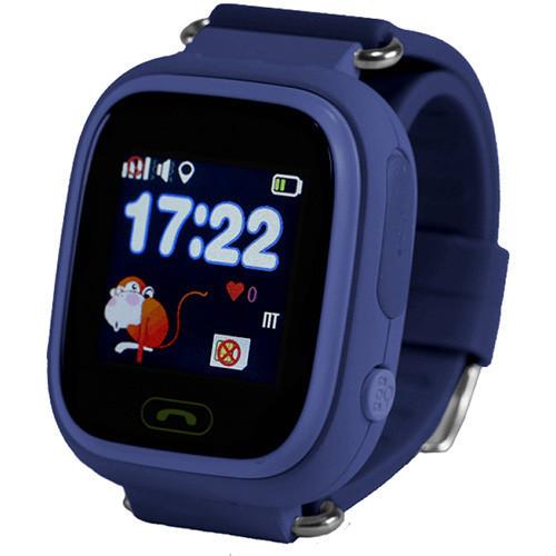 Смарт-часы детские с GPS Smart Watch Q90 синий