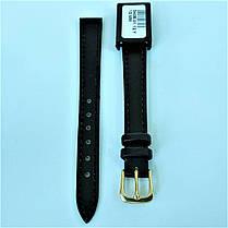 12 мм  Кожаный Ремешок для часов CONDOR 340.12.01 Черный Ремешок на часы из Натуральной кожи, фото 2