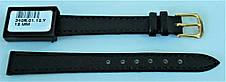12 мм  Кожаный Ремешок для часов CONDOR 340.12.01 Черный Ремешок на часы из Натуральной кожи, фото 3