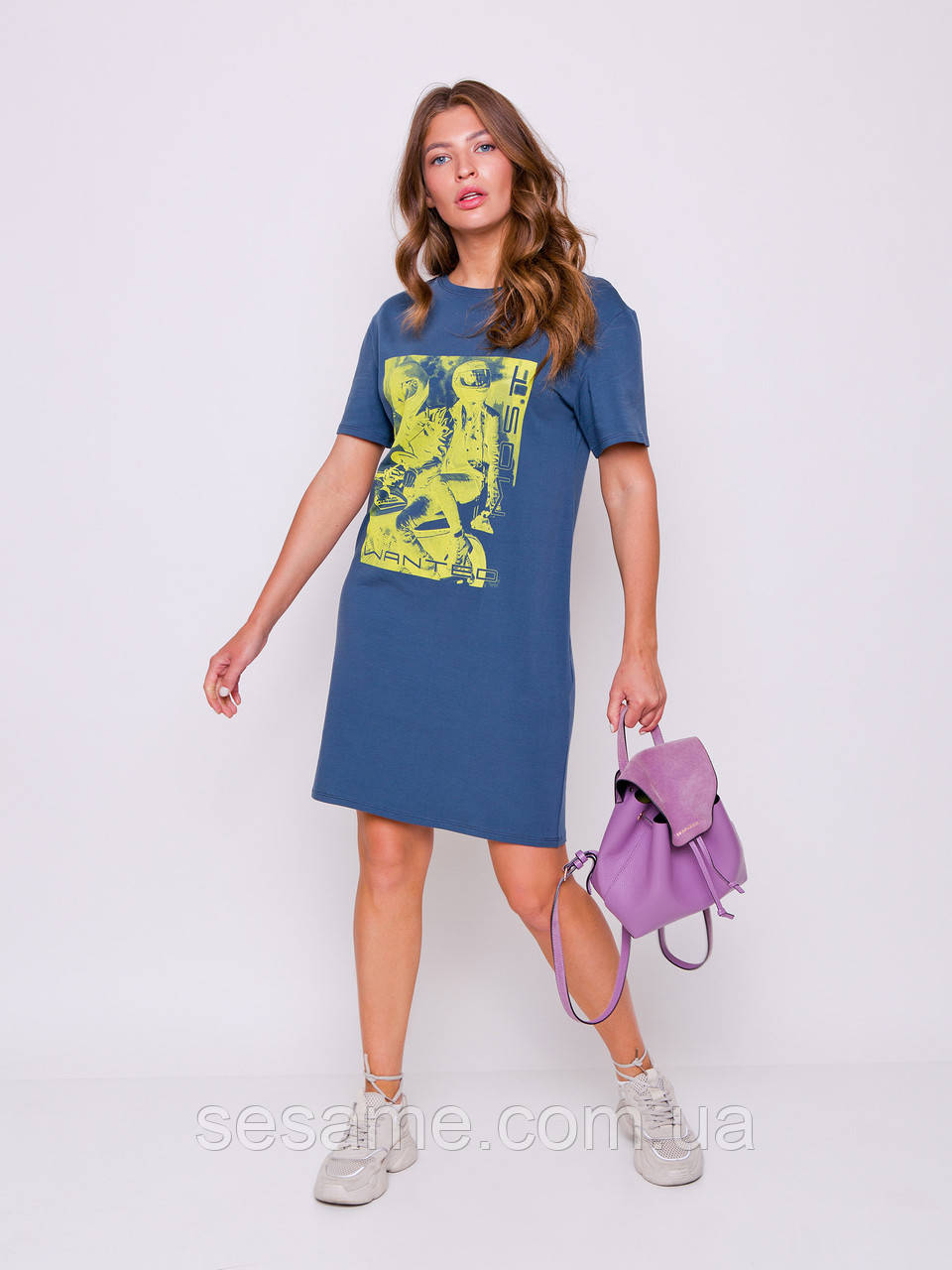 grand ua Тамани платье-футболка