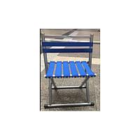 Складной стул для туризма кемпинга (Синий) TM-81
