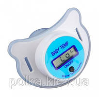 Цифровой термометр в виде соски (Голубой)