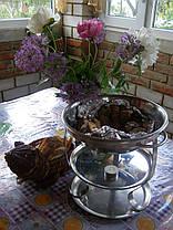 Шашычная грелка настольная лист, фото 3