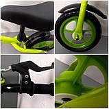 Беговел R-Sport R9 колеса 12 пена тормоз зеленый, фото 4