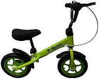 Беговел R-Sport R9 колеса 12 пена тормоз зеленый, фото 1