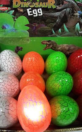 """Лизун-жвачка для рук """"Динозавр светящийся"""" гигант (уп.12), фото 2"""