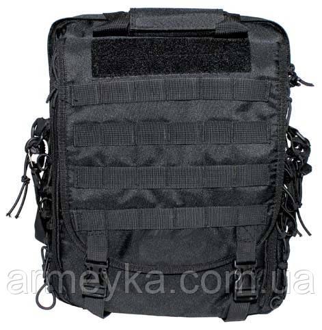 Тактическая сумка-рюкзак с системойMolle, черная