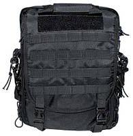 Тактическая сумка-рюкзак с системойMolle, черная, фото 1