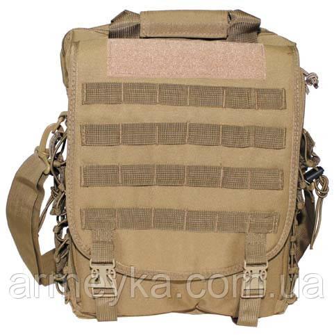 Тактическая сумка-рюкзак с системойMolle, coyote tan