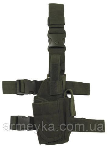 Пистолетная кабура  набедренная, олива