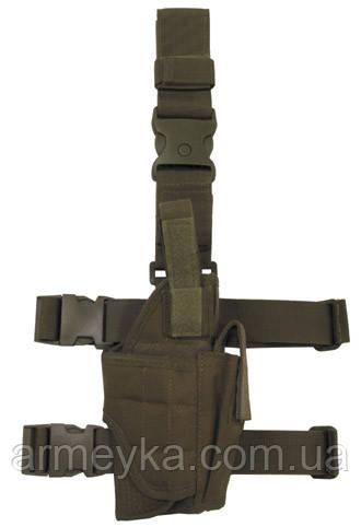 Пистолетная кабура  набедренная, woodland