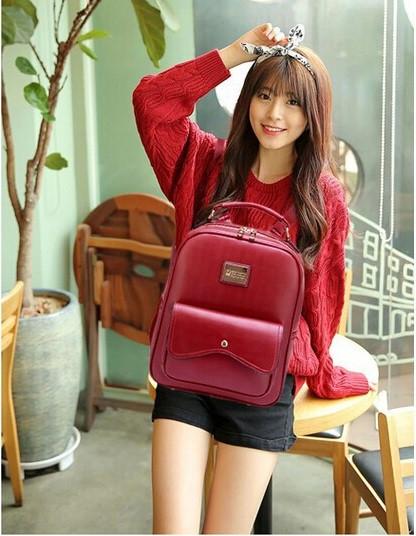 Модный рюкзак. Женский рюкзак. Стильный рюкзак. Недорогой рюкзак. Код:КРСК163