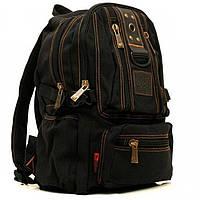 Черный рюкзак среднего размера GoldBe арт. 1304