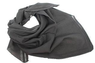 Ритуальный черный хлопковый платок 201001