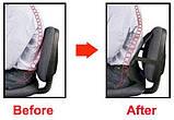Упор массажный для спины, массажная накидка, Массажная накладка на кресло в офис и автомобиль, фото 3