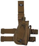 Пистолетная кабура  набедренная правосторонняя, coyote tan, Германия MFH