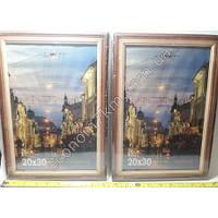 S273 Рамка для фото дерево со стеклом (20 х 30 см)