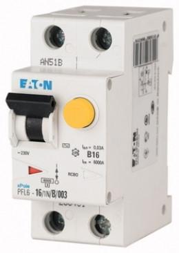 Дифференциальный выключатель PFL6-25/1N/C/003
