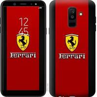 Чехол Endorphone на Samsung Galaxy A6 Plus 2018 Ferrari 1202c-1495-18675 (1202-1495)