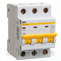 Автоматический выключатель ВА47-29 3P 40А 4,5кА х-ка C