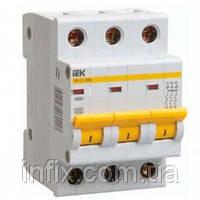 Автоматический выключатель ВА47-29 3P 50А 4,5кА х-ка C