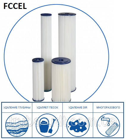 Картридж механічної очистки Aquafilter FCCEL20M20В