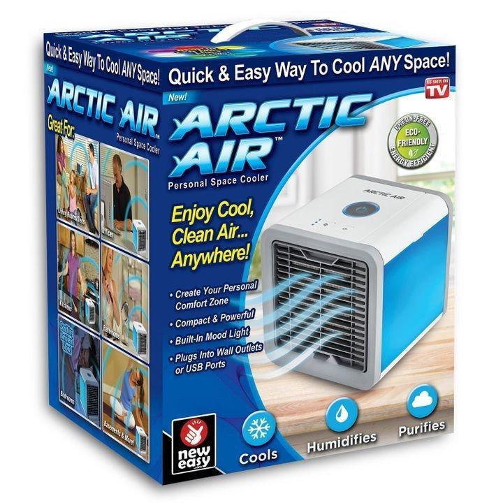 Портативный кондиционер 4в1 Rovus Arctic Air с подсветкой