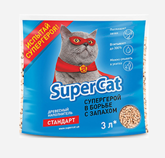 Наполнитель SuperCat 1 кг, фото 2