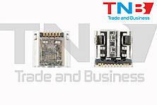 Разъем Micro USB для планшета SAMSUNG T231 T210 T211 P5200 P3200 P3210 P5210 ОРИГІНАЛ