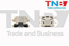 Разъем Micro USB для планшета LENOVO A5500 A8-50 A526; HTC Desire 300 ОРИГІНАЛ