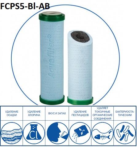 Антибактериальный картридж Aquafilter FCPS5-BL-AB