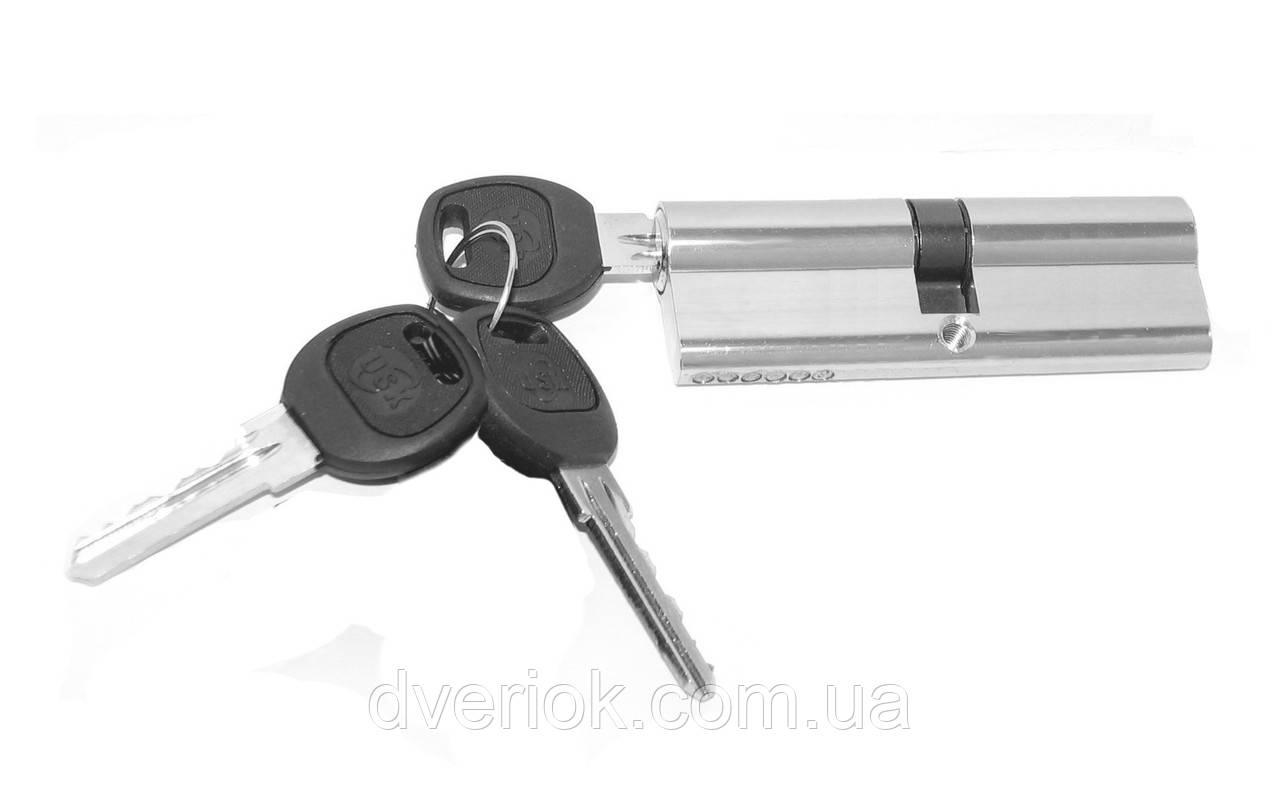 Цилиндровый механизм USK 3A-90 (45x45) ключ/ключ