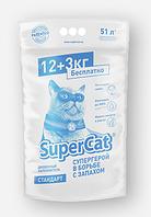 Наполнитель SuperCat 12+3 кг