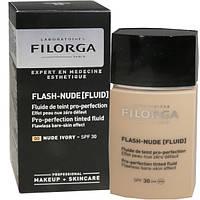 Filorga Flash-Nude Fluid Ivory SPF30 Филорга Флеш-Нюд Тон 00 Слоновая Кость