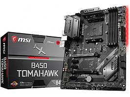 Материнская плата MSI B450 Tomahawk (sAM4, AMD B450, PCI-Ex16)
