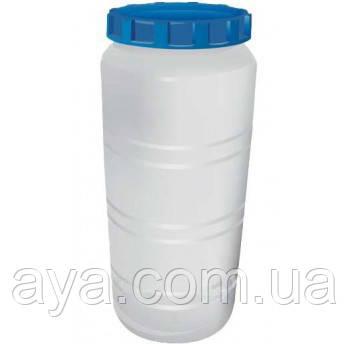 Емкость вертикальная круглая белая для воды на 100 (л)