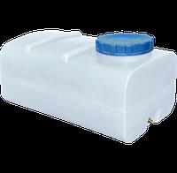 Емкость для воды  горизонтальная прямоугольная белая  300 (л)