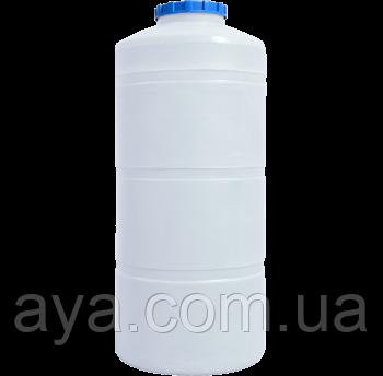 Емкость для воды вертикальная круглая 750 (л)
