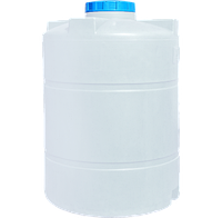 Бочка вертикальная для воды круглая  2500 (л)