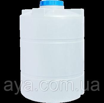 Бак для воды вертикальный круглый  3000 (л)